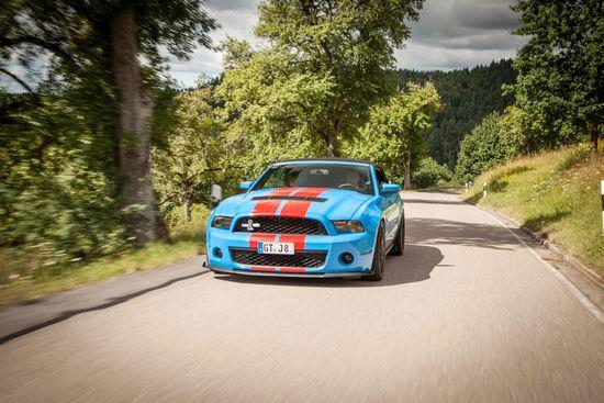 Tuning - Umfangreiches Fahrwerkprogramm für den Ford Mustang VI (LAE):