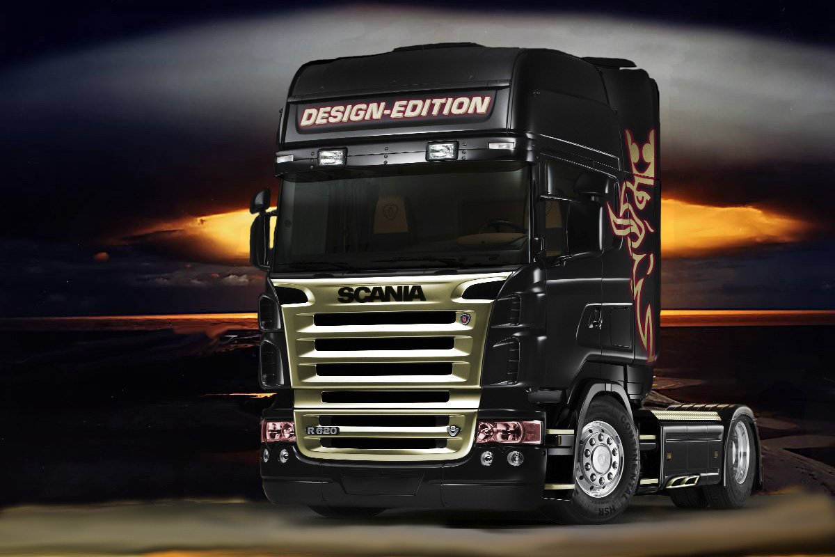 Scania V8 Wallpaper - LiLz.eu - Tattoo DE
