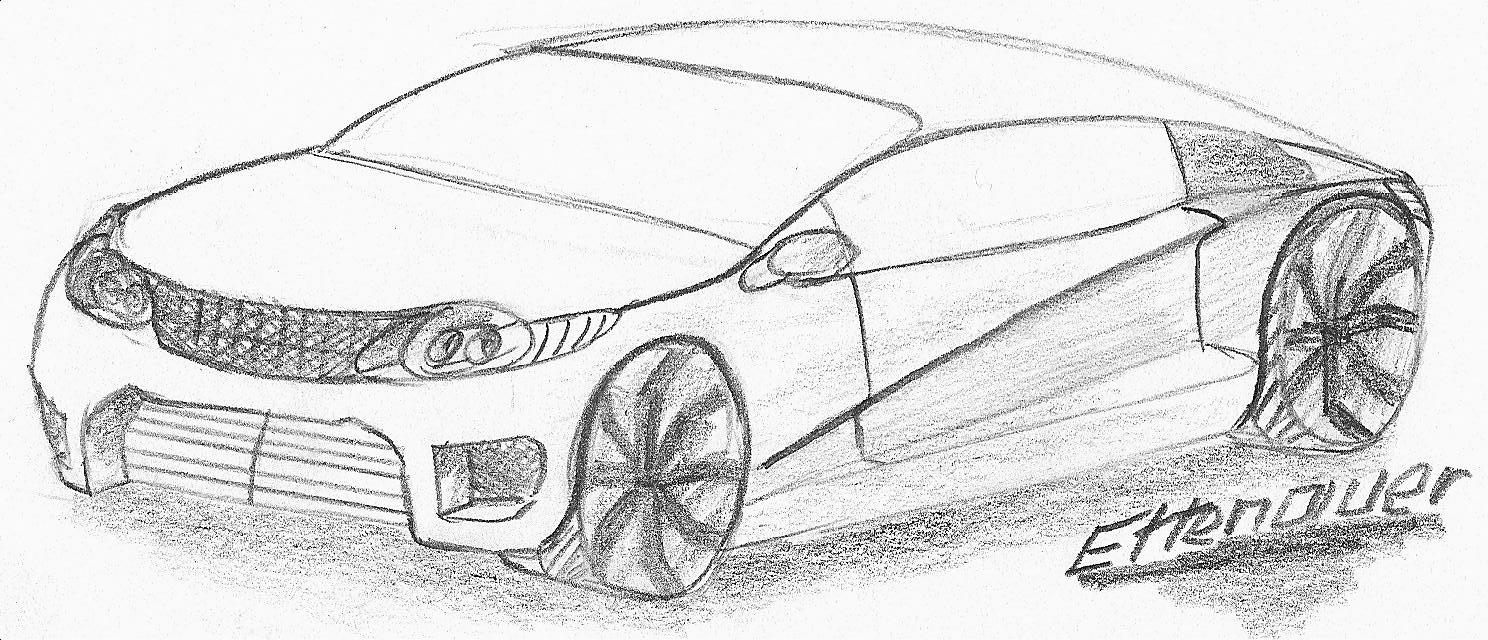 concept car zeichnung - pagenstecher de