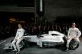 Motorsport - Präsentation:  Formel 1-Silberpfeil Werksteam MERCEDES GP PETRONAS