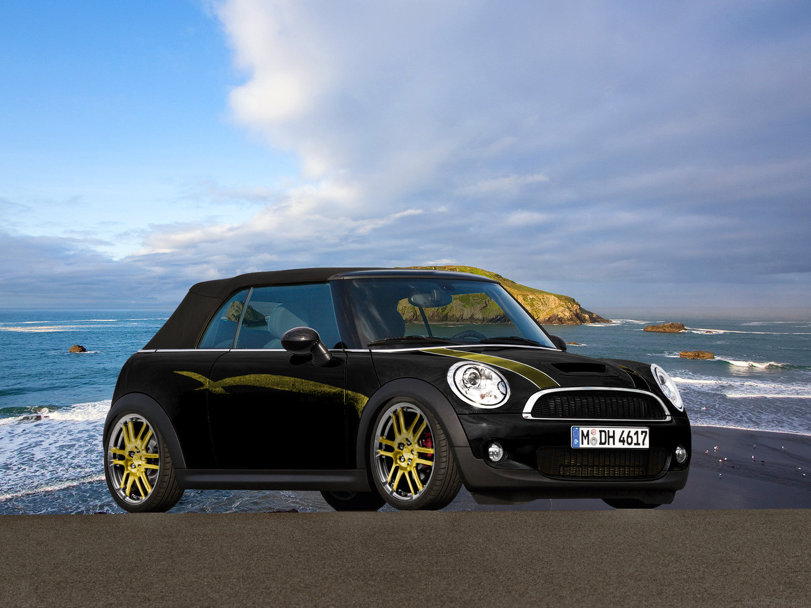 mini cooper s cabrio hintergrundbilder mini cooper s. Black Bedroom Furniture Sets. Home Design Ideas