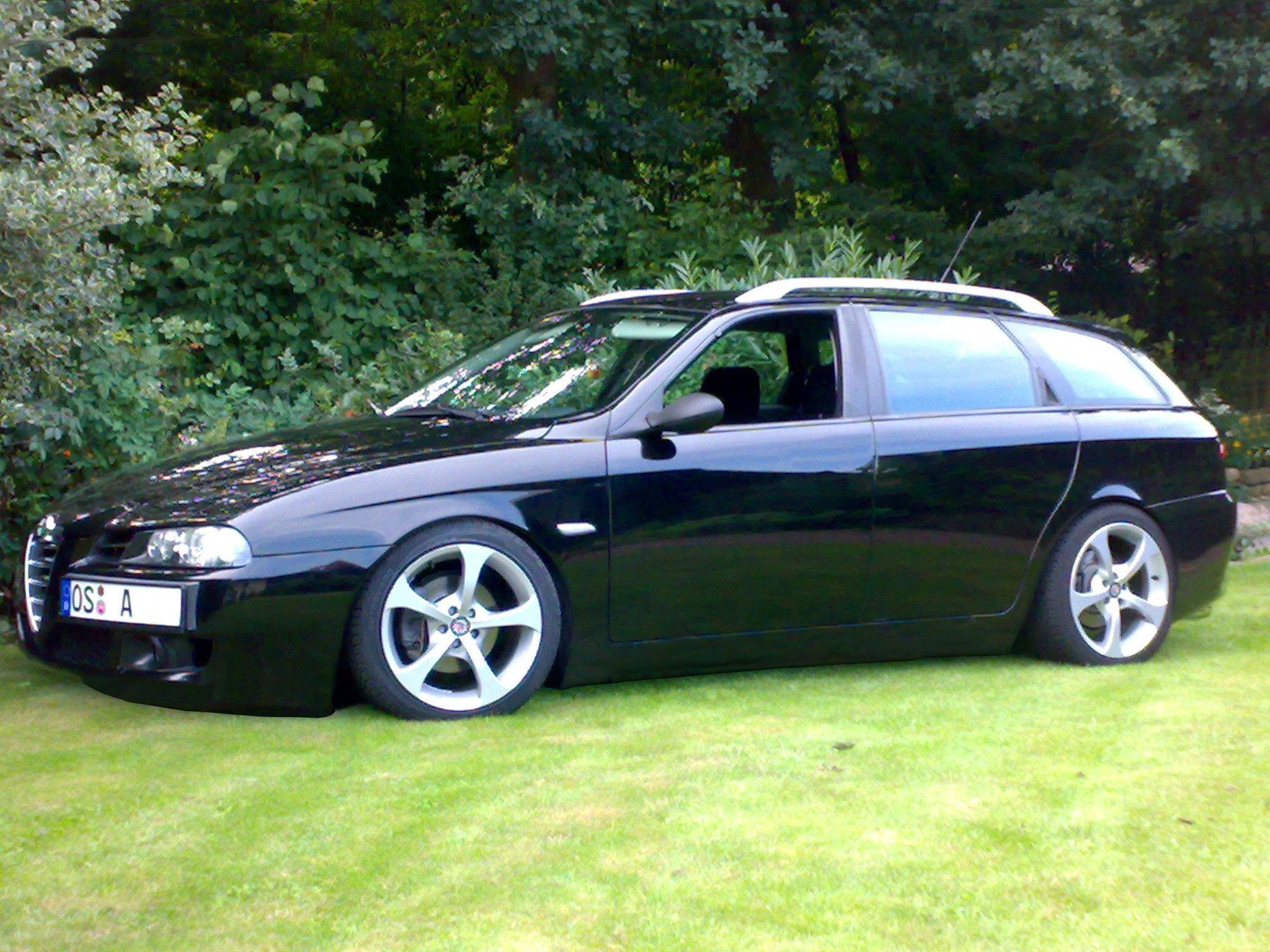 alfa romeo 156 sportwagon tuning images galleries with a bite. Black Bedroom Furniture Sets. Home Design Ideas
