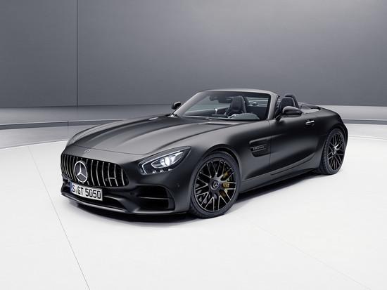 """Luxus + Supersportwagen - Mercedes-AMG GT C Roadster als """"Edition 50"""""""