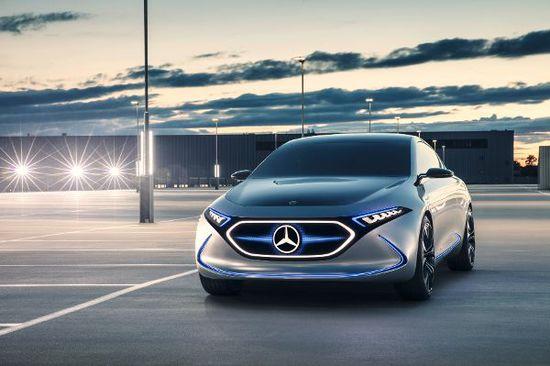 Elektro + Hybrid Antrieb - Mercedes EQA und GLC F-Cell: E-Mobilität mit Stern