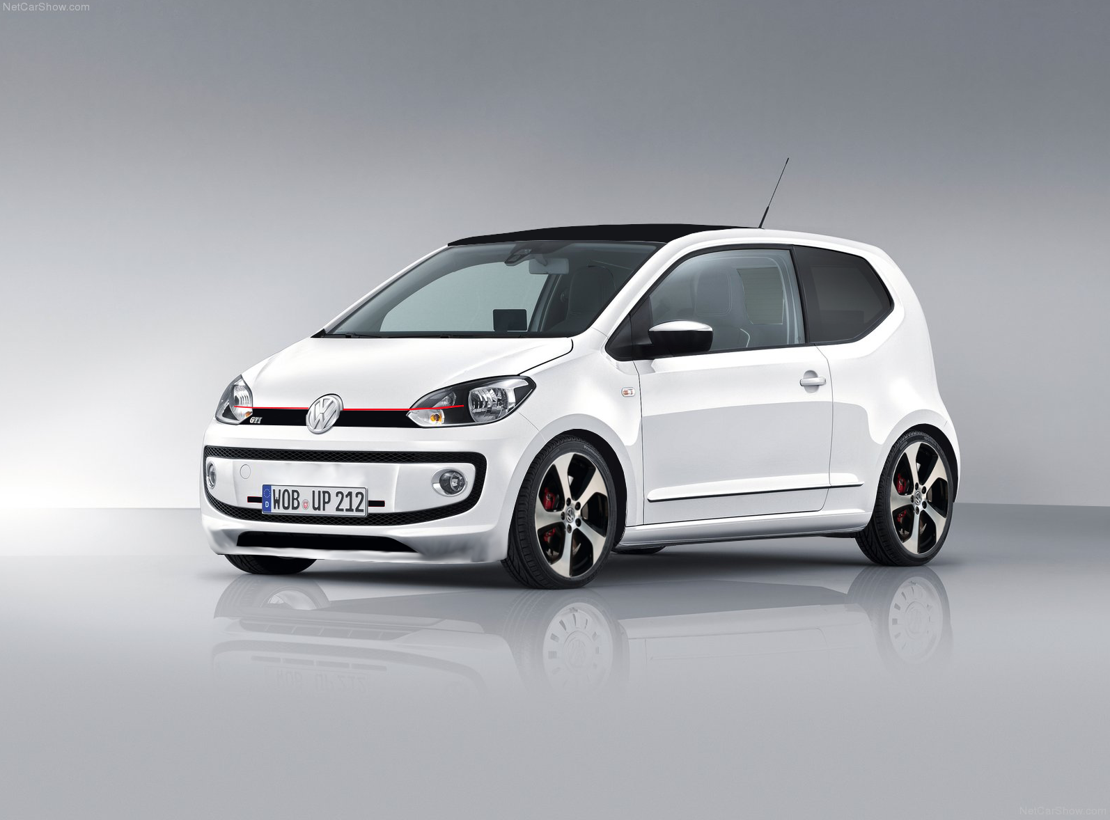 fake vw up gti deine automeile im netz. Black Bedroom Furniture Sets. Home Design Ideas