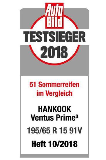 Felgen + Reifen - Sommerreifentest: Hankook Ventus Prime auf Platz 1