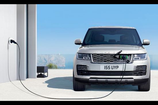 Elektro + Hybrid Antrieb - Range Rover erstmals als Plug-in-Hybrid