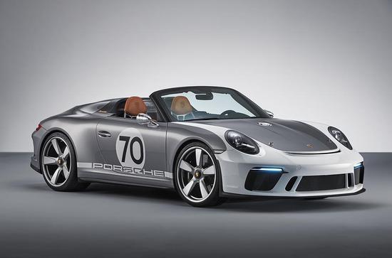 Luxus + Supersportwagen - Porsche 911 Speedster Concept: offen, puristisch und mehr als 500 PS
