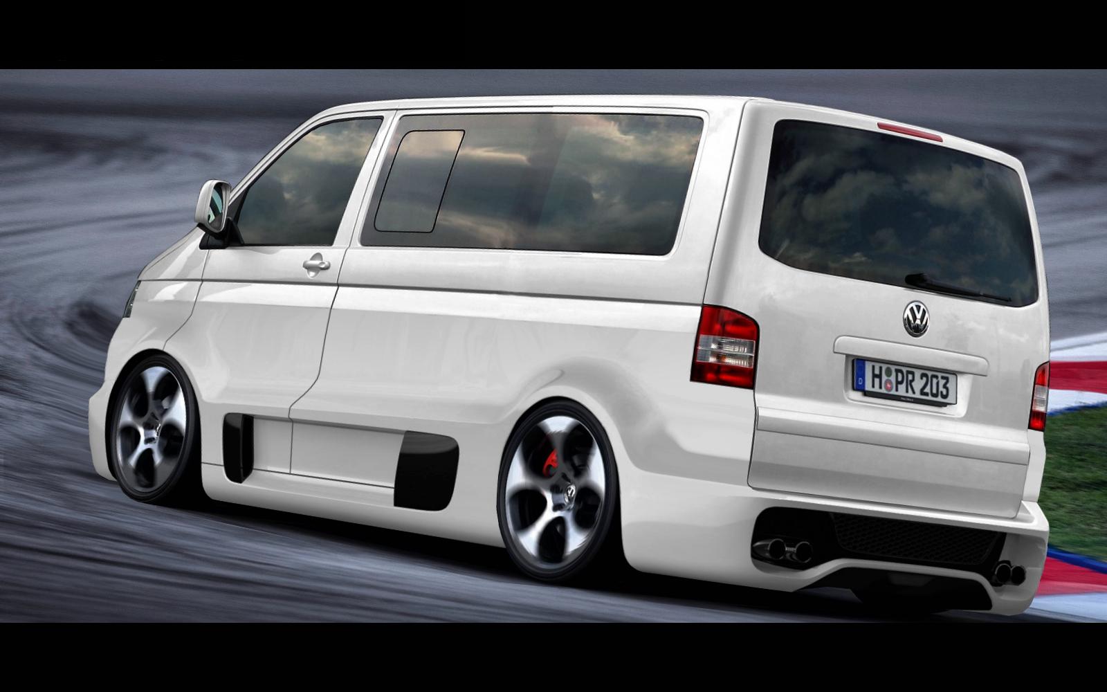 Fake VW T5 W12-Concept - pagenstecher.de - Deine Automeile ...