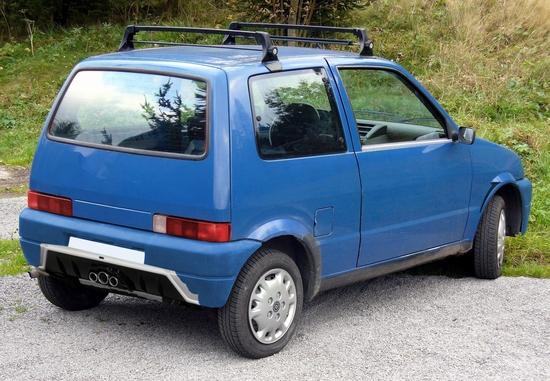 Name: Fiat_Cinquecento_Heckfake.JPG Größe: 1499x1039 Dateigröße: 890099 Bytes