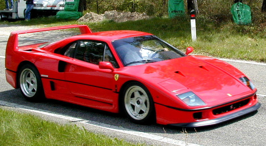 Ferrari F40 - pagenste...F 18 Wallpaper