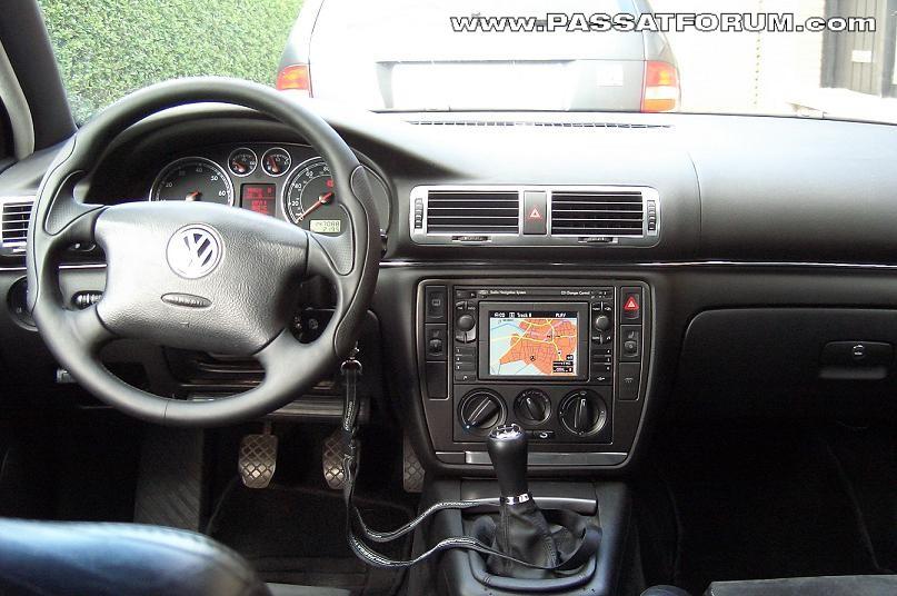 Blog-Eintrag Interieur zum Auto VW Passat 3B Variant 1,8T ...