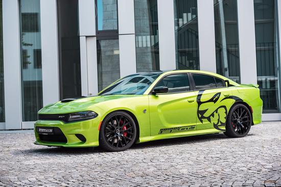 Tuning - Viertürige Höllenkatze: Dodge Charger SRT Hellcat by GeigerCars.de
