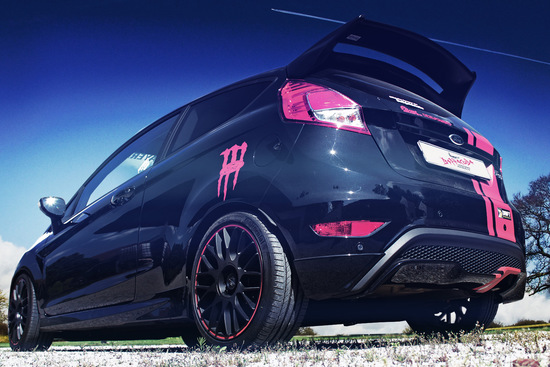 Tuning - Barracuda Karizzma-Felgen am Ford Fiesta