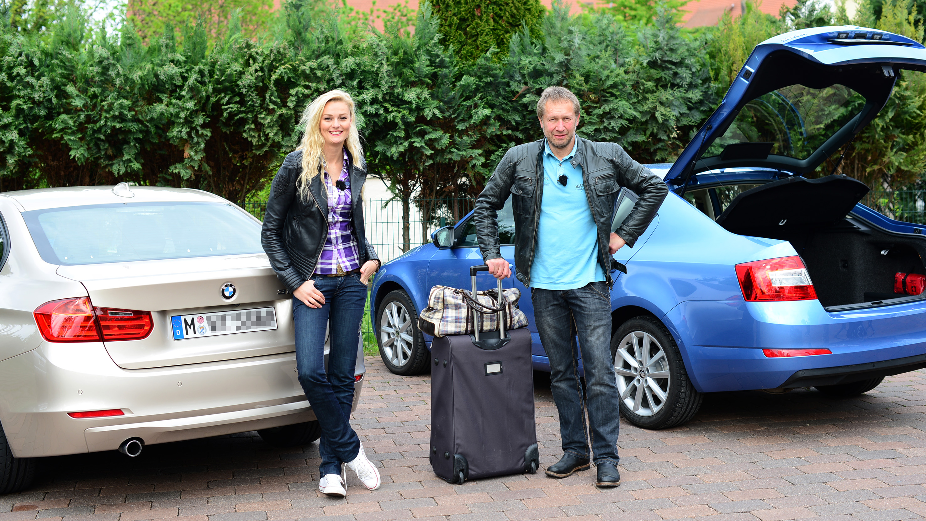Matthias Malmedie Und Cyndie Allemann Testen Supersportler