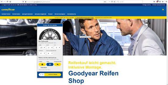 Felgen + Reifen - Goodyear macht den Reifenkauf einfacher