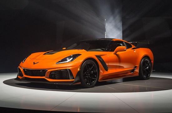Luxus + Supersportwagen - Chevrolet Corvette ZR1: Manche mögen`s heißer
