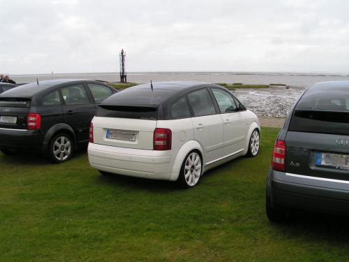 video vom audi a2 treffen an der nordsee. Black Bedroom Furniture Sets. Home Design Ideas