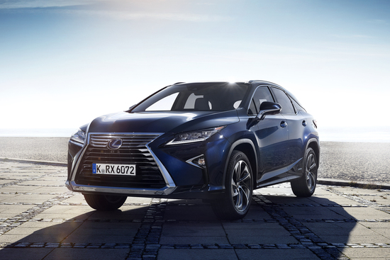 Erlkönige + Neuerscheinungen - Lexus startet stark ins neue Jahr