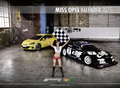 Girls + Cars - Heiß durchs Jahr 2015: Miss Opel Kalender in limitierter Auflage