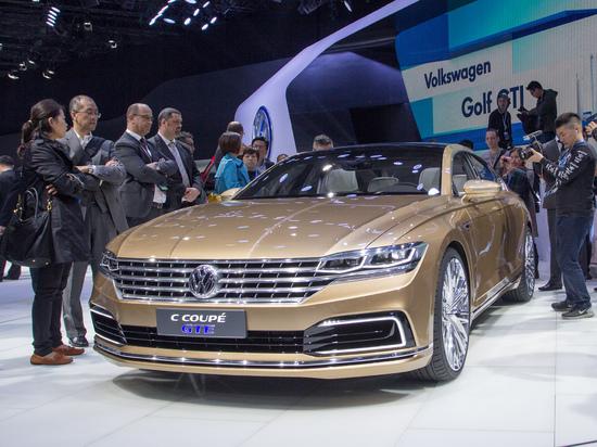 Erlkönige + Neuerscheinungen - Auto Shanghai 2015: Volkswagen zeigt C Coupé GTE