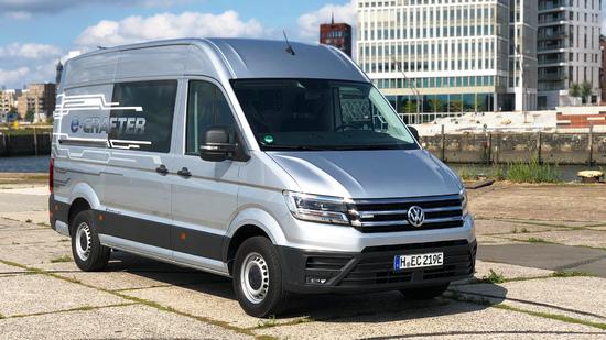 Fahrbericht - [ Video ] VW e-Crafter - Probefahrt im elektrischen Volkswagen Crafte