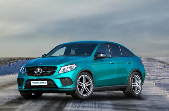 Name: Mercedes-Benz_GLE_Coupe_mit_CARMANI_13_bright_silver_front1.jpg Größe: 1920x1260 Dateigröße: 740785 Bytes