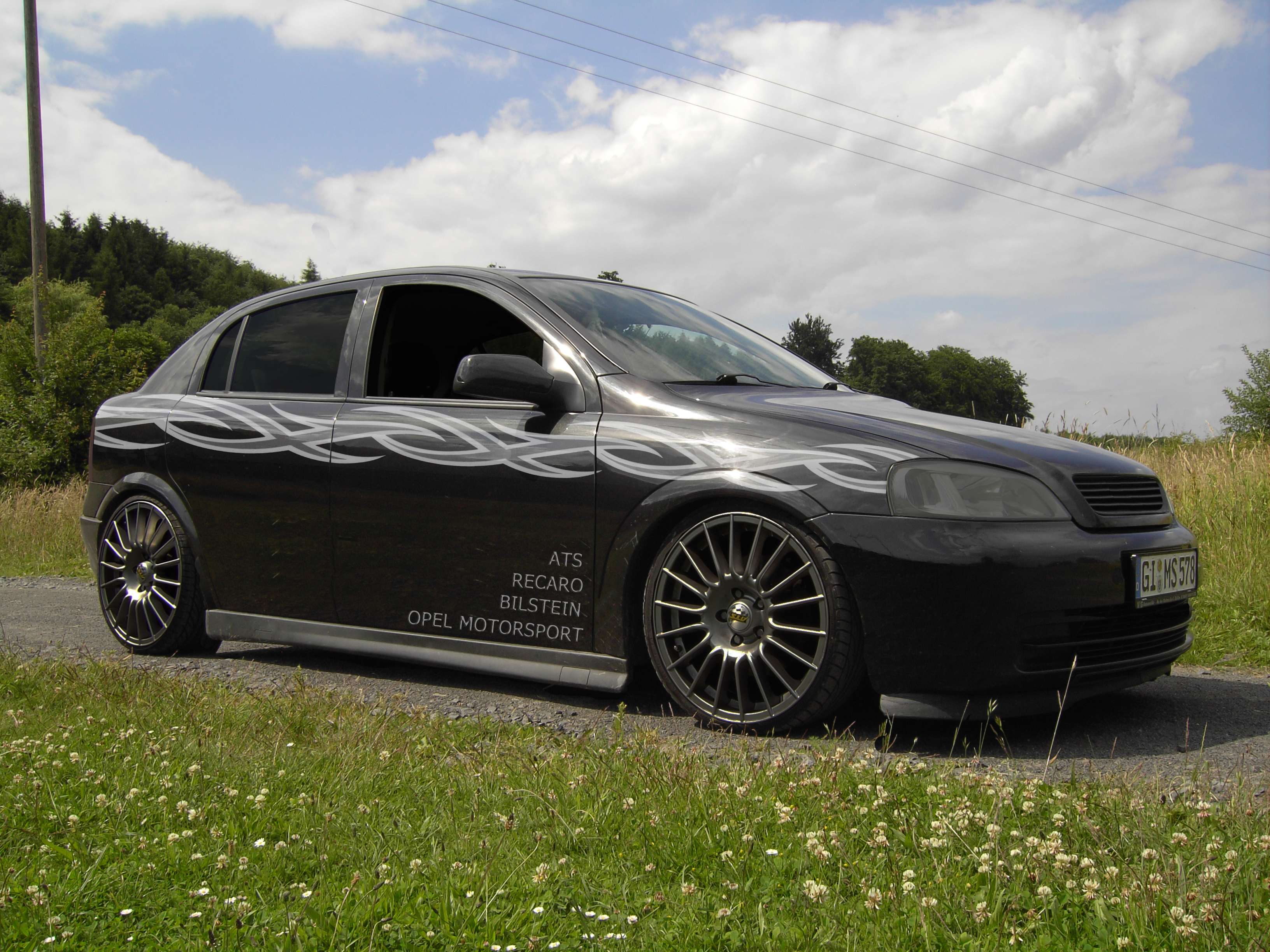 Wheels of Opel Astra G Tuning, body kit, cluch, tyres, spoilers, turbo ...