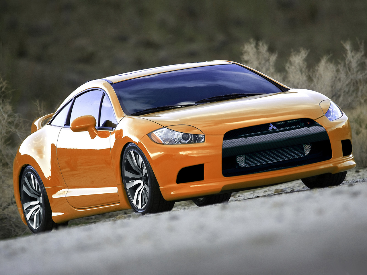 How To Draw A Mitsubishi Eclipse Car Step Pictures