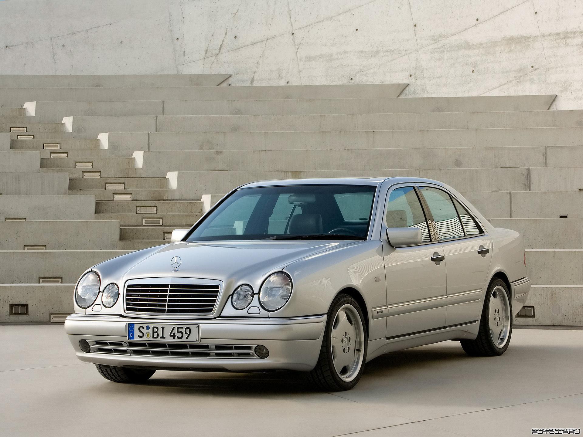 Fake Mercedes Benz W210 AMG