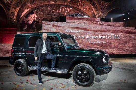 Erlkönige + Neuerscheinungen - Detroit Auto Show: Mercedes G-Klasse ganz neu