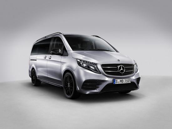 """Rückruf - Mercedes-Benz V-Klasse als schwarz akzentuierte """"Night Edition"""""""