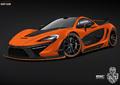 Elektro + Hybrid Antrieb - Nun ist auch der britische Bolide McLaren P1 von einem Hybrid-Antrieb befeuert.