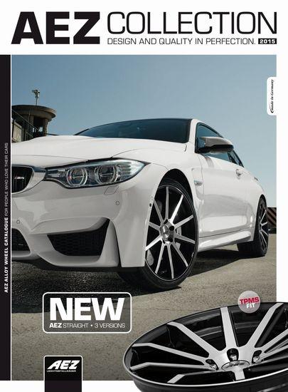 Felgen + Reifen - AEZ 2015 – der neue Katalog