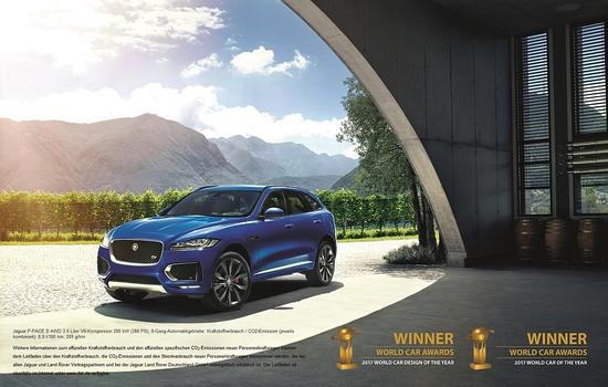 Name: Jaguar_F-PACE_World_Car_Of_The_Year_2017_1.jpg Größe: 1024x651 Dateigröße: 553104 Bytes