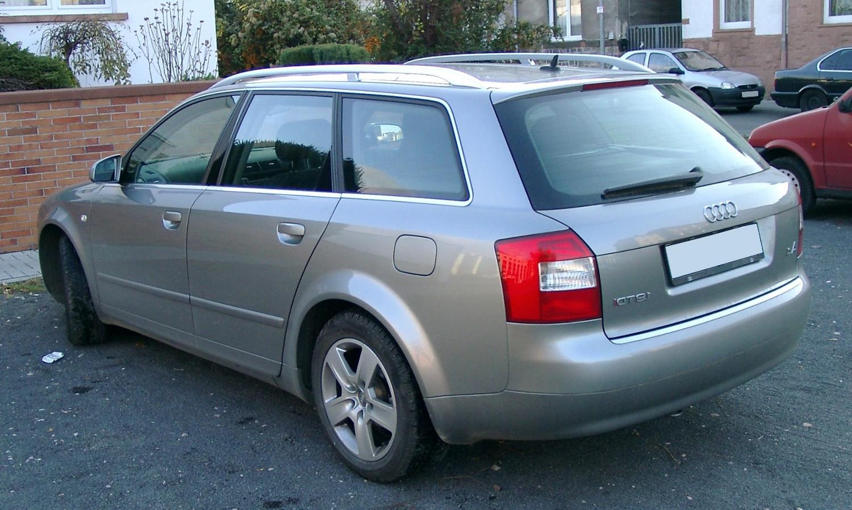 Audi a4 b6 Kombi Audi a4 b6 Kombi Rear 20071115