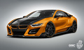 "Elektro + Hybrid Antrieb - Preview: BMW i8 ""iTRON"" von German Special Customs"