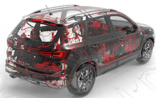 Auto - Auto mit (fast) menschlichem Nervensystem