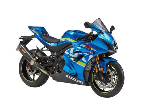 Motorrad - Suzuki GSX-R1000 mit drei limitierten Zubehörpaketen