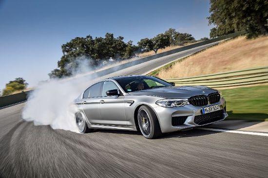 Erlkönige + Neuerscheinungen - BMW M5 Competition: Stark und schnell