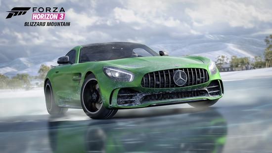 Luxus + Supersportwagen - Im Wohnzimmer auf Schnee und Eis im Mercedes-AMG GT R