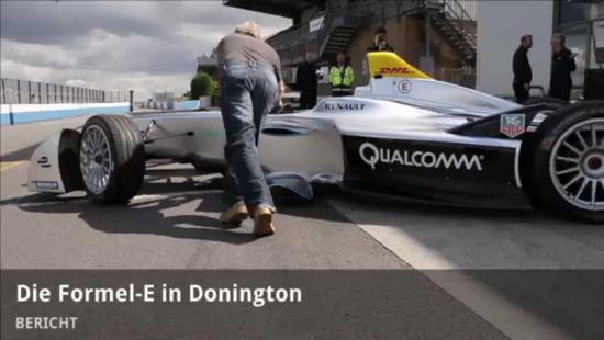 Elektro + Hybrid Antrieb - Formel E Testfahrten in Donington Park - Bericht