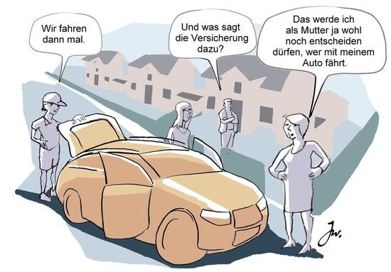 Recht + Verkehr + Versicherung - Kfz-Versicherung: Das Fahrzeug verleihen kann teuer werden