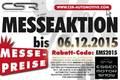 Deal - Seit dem 28.11.2015 gilt - Zur Essen Motor Show 2015 kräftig sparen!