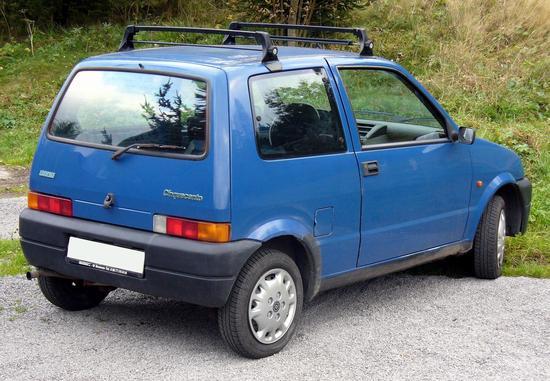Name: Fiat_Cinquecento_Heck.JPG Größe: 1499x1039 Dateigröße: 368329 Bytes