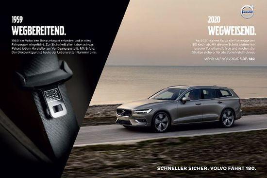 Auto - Volvo fährt Kampagne zum Thema Geschwindigkeit