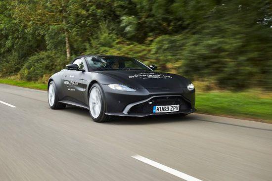 Erlkönige + Neuerscheinungen - Im Frühjahr 2020 lüftet Aston Martin den Vantage