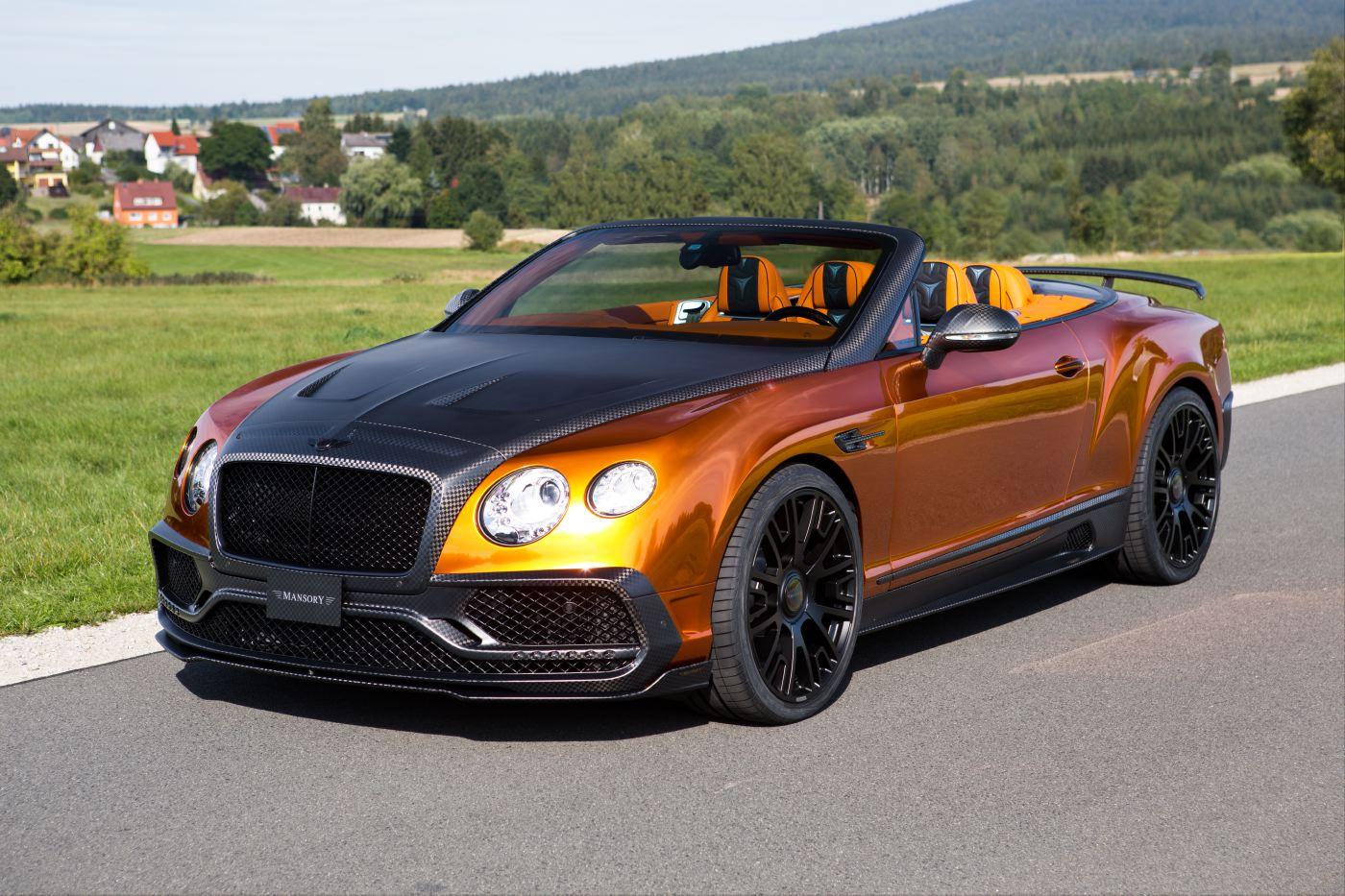 Elegantes Mansory Veredelungsprogramm F 252 R Den Bentley Gtc