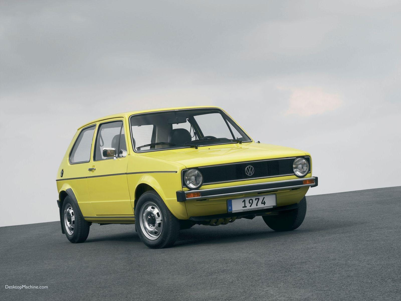 VW Golf 1(erster BG-Change):