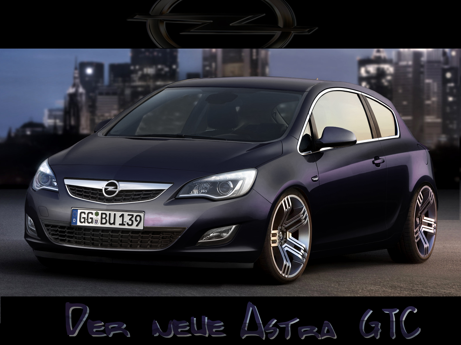 fake opel astra h gtc deine automeile im netz. Black Bedroom Furniture Sets. Home Design Ideas
